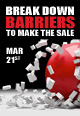 March 21st Webinar - Break Down Barriers to Make the Sale